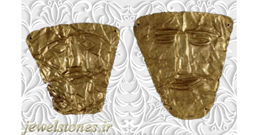 نقاب های طلایی اشکانی