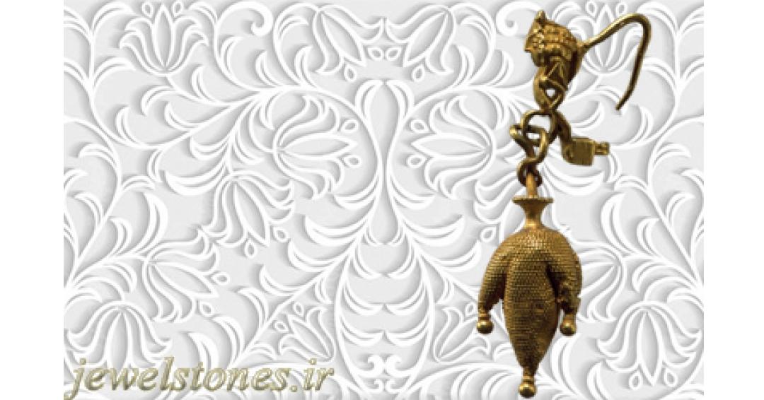 گوشواره طلا اشکانی