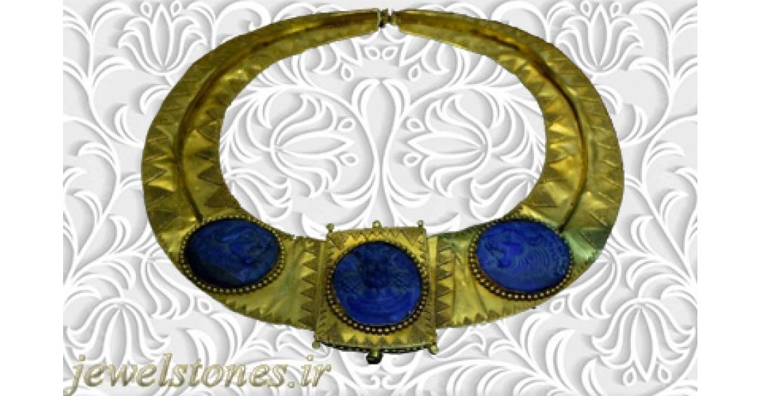 گردنبند زرین ساسانی